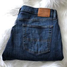 Lucky Brand Men's Jeans Size 38 x 30 221 Straight Leg Dark Wash Blue Denim