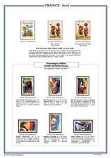 Album de timbres  à imprimer 1849-2017  - timbresenpages.fr