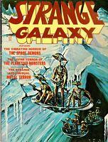 STRANGE GALAXY Vol 1, No 10 EERIE June 1971 Horror Magazine FINE