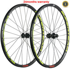 100% Carbon Mountain Bicycle Wheels 29er Tubeless MTB Wheelset Cyclocross Wheels