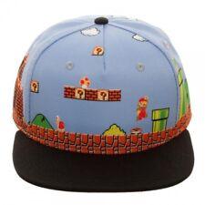 Official Nintendo-Super Mario Bros scène 8BIT Casquette Réglable (NEUF)