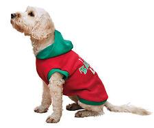 Palo de rosa de navidad con capucha Santa's Lista Para Perros Mediano 32cm