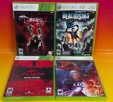 Dead Island: Special Edition, Darkness II LE, Dead Rising, DMC 4 - XBOX 360