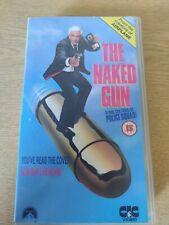 The Naked Gun VHS Video Tape Leslie Nielsen O J Simpson Comedy