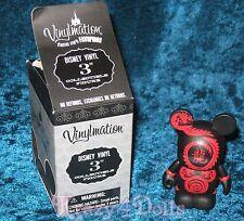 "Disney Vinylmation 3"" Black Dragon Theme Park Favorites Series Figure New!"