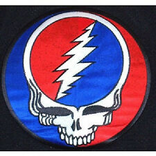 GRATEFUL DEAD STEAL YOUR FACE BACK EMBROIDERED PATCH NEW OFFICIAL CLASSIC