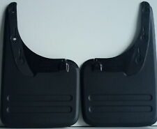 TOYOTA HILUX 4X2 REAR PLASTIC MUD FLAPS 2004 - 2013 LEFT & RIGHT HAND PAIR