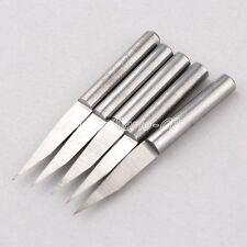 Wholesale 5x 4mm 20 Degree Carbide PCB Engraving Bit CNC Router 0.1mm