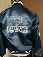 1970's The Vortex Cyclones Satin Rock Band Tour Jacket Medium Eddie Vortex Rare