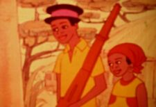 16mm Film Animation The Cow Tale Switch African Folk Tale Great Story Rare