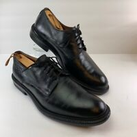 Bacco Bucci Mens Oxfords Black Leather Lace Up Dress Formal Shoe Italy 10.5