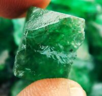 Details about  /Natural 118.60 Cts Earth Mined Colombian Green Emerald Rough Loose Gemstone