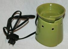 Scentsy Greenwich Green Mid-Size Electric Warmer Twist Design Msw-Grnw