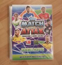 Match Attax Sammelmappe 2015/2016 fast vollständig Top Zustand