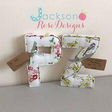 Christening Gift Letters, Wall Art Handmade Nursery name, personalised, girl,boy
