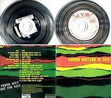 SOUND IRATION In Dub 2010 UK 22-track double promo test CD