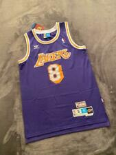 Los Angeles Lakers #8 Kobe Bryant Purple Throwback Jersey FAST SHIPPING