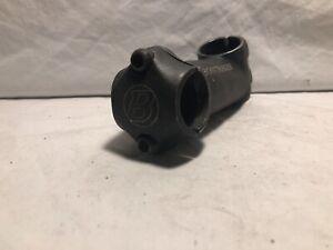 "Black Bontrager Race 1 1/8"" Treadless 95mm 25º 25.4mm Rise Stem CHARITY!"