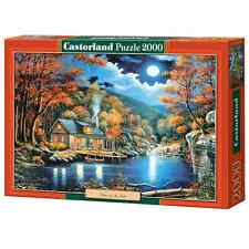New Castorland Jigsaw Puzzle 2000 Pieces - Cabin by the Lake - C200504