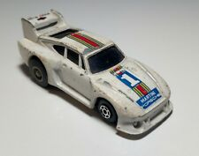 Vintage High Speed Diecast Martini Porsche White #1 PullBack Thailand 1/64 Scale