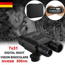 7x31 Digitales Nachtsichtgerät Binokular Fernglas bis 400 m IR-Sichtweite T0J4