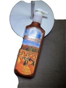 BATH & BODY WORKS SWEET CINNAMON PUMPKIN DEEP CLEANSING HAND SOAP NEW!