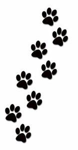 Paw Prints Stencil A4 /A5 /A6 - Choose a Stencil