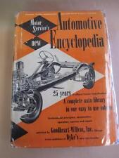 Motor Services Book, Automative Encyclopedia, Chev, Pontiac, Packard etc 1929-54
