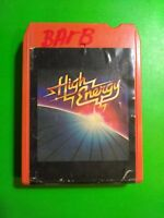 HIGH ENERGY 8 Track Tape K Tel Blondie Peaches & Herb Orleans Styx Gaynor 1979