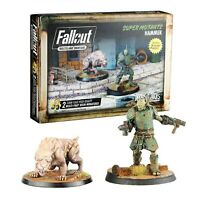 Fallout Wasteland Warfare Miniatures Super Mutants Hammer Brand New