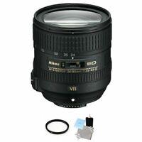 Nikon AF-S NIKKOR 24-85mm f/3.5-4.5G ED VR Lens + UV Filter & Cleaning Kit