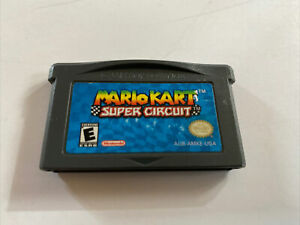 Mario Kart Super Circuit GBA - 100% Authentic Official Nintendo Gameboy Advance