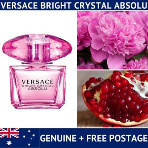 Versace Bright Crystal Absolu - 2ml 5ml 10ml Sample Spray Handbag size