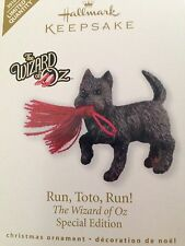 Hallmark Christmas Ornament NIB RUN, TOTO,RUN! Wizard Of Oz Special Edition 2010