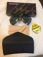 Tasco Glasses 1175Z Polarized Acrylic Lens, Black Metal Frames, Case Shooters Gl