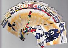 2010-11 SCORE GLOSSY 18x CARD LOT ROOKIES RC'S NAZIM KADRI 10-11 +++