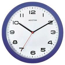 Acctim Aylesbury Wall Clock Blue 92/308 [ANG92308]