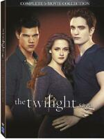 The Twilight Saga Complete Movies Series 1 2 3 4 5 Collection Boxed Dvd Set New