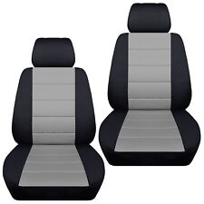 Fits 2005-2011 Hyundai Getz front set car seat covers , Separate headrest covers