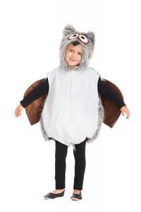 Eule Eulen Weste Plüsch Kostüm Overall Vogel Tier Eulenkostüm Tiger Katze Maus