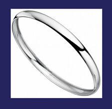 Armreif Plain Solid Silber Damen Sterlingsilber