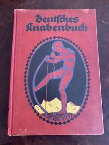 Deutsches Knabenbuch wohl um 1900