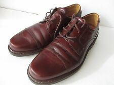 ECCO Brown Vegetable Tanned Leather Lace Up Shoes Size 42 D