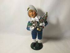 Byers Choice 2005 Victorian Shopping Boy with Gifts New
