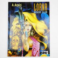 Azpiri LORNA MOUSE CLUB Erotic graphic novel HEAVY METAL MAGAZINE comic story
