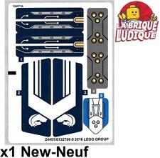 Lego - 1x Sticker Autocollant Nexo Knights 70312 Lance's Mecha Horse cheval NEUF