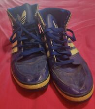 Adidas High Top Shoes Size 13 Blue Used Mens