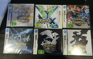Nintendo DS & 3DS Pokemon Games Bundle