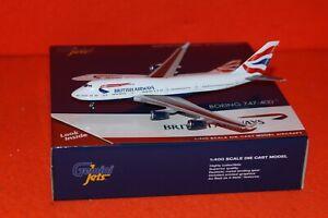 GEMINI JETS GJ1934 BRITISH AIRWAYS BOEING 747-400 reg G-CIVN 1-400 SCALE
