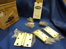 New in box 8 sets Ives Hinges 3Cb1 part #33-139-84 3.5 x 3.5 hinges 24 total